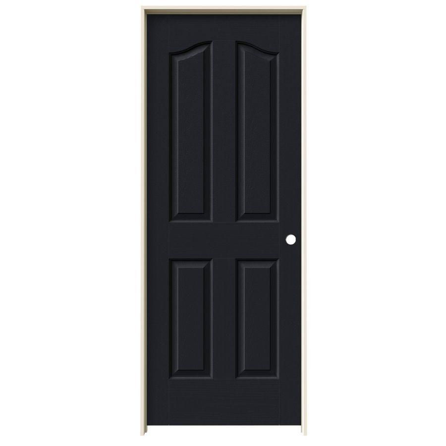 Jeld Wen Midnight Prehung Hollow Core 4 Panel Arch Top Interior Door