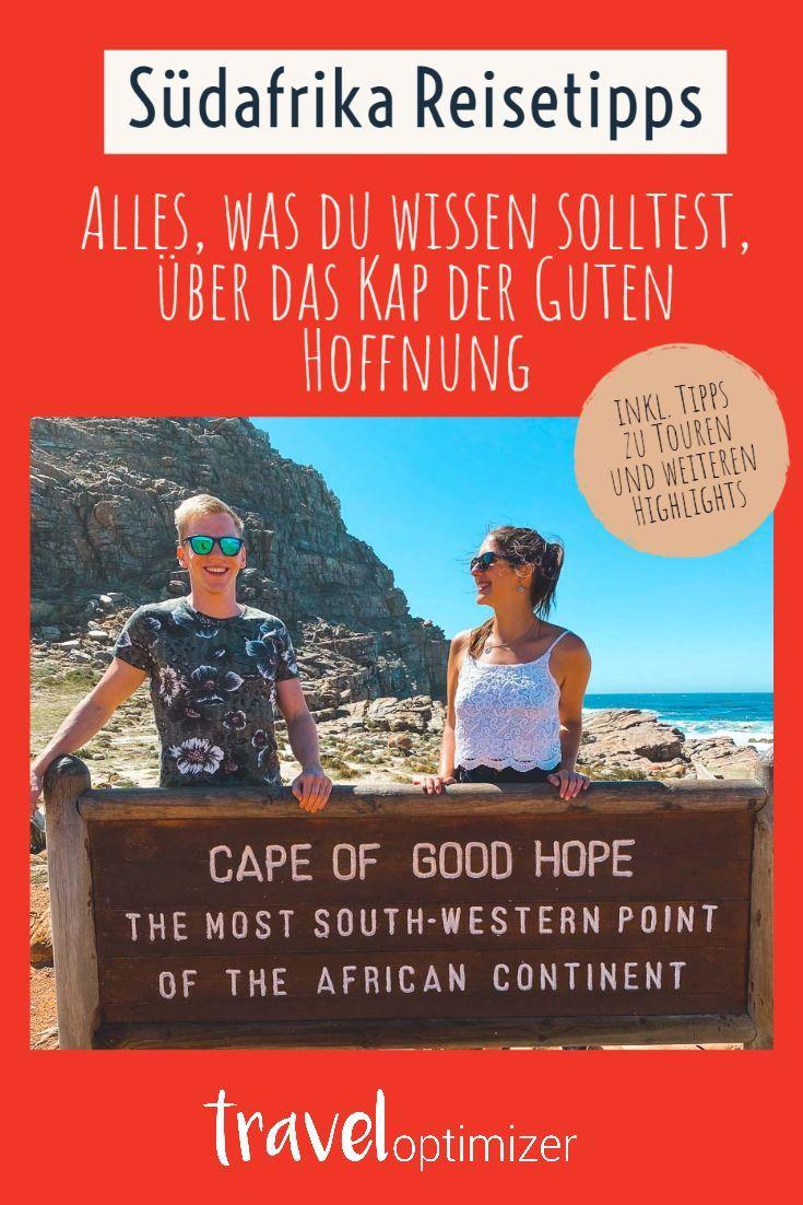 Einmal am Kap der Guten Hoffnung stehen in Südafrika - ein Traum von vielen. Wir verraten dir alle Tipps rund um einen Ausflug zum Kap der Guten Hoffnung und die Kap Halbinsel. So wird dein Traum schnell wahr. Unsere Südafrika Reise zum Nachreisen findest du auf unserem Blog. #reisen #südafrika #rundreise #urlaub2020 #kapstadt