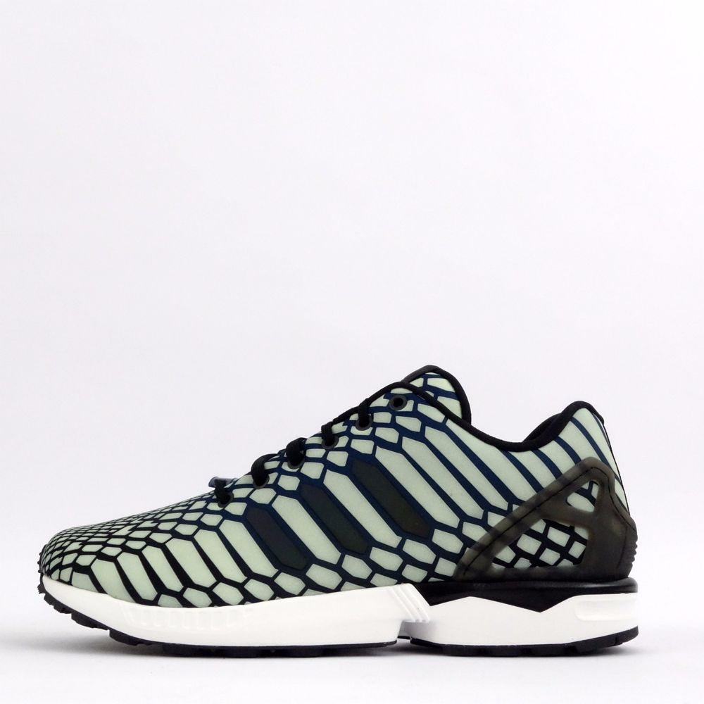 brand new f5b09 cedf6 adidas Originals ZX Flux Xeno Reflective Mens Casual Trainers Shoes Sneakers  in Clothes, Shoes
