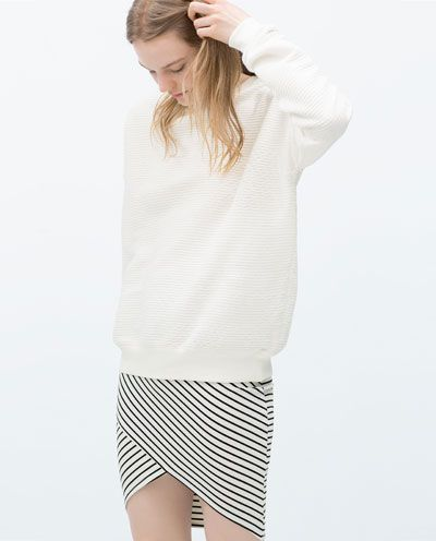 e1457390 CROSSOVER MIDI SKIRT | Spring/Summer | Fashion, Zara skirts, Fashion ...