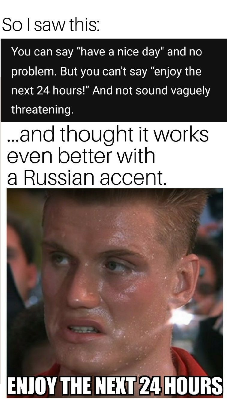 Say It With A Russian Accent Mega Memes Lol Russian Humor Russian Memes Memes