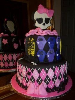 Fabulous Monster High Cake With Images Monster High Birthday Cake Funny Birthday Cards Online Eattedamsfinfo