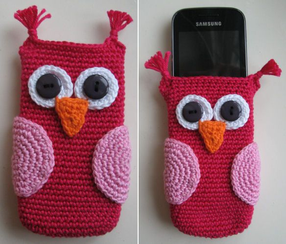 Telefoon Hoesje ~ My Stuff | Crochet | Pinterest | Häkeln