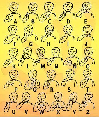 Resultado de imagen para lengua de señas argentina