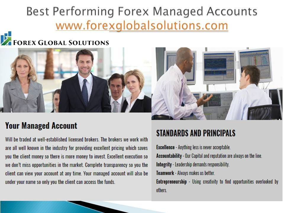 The Reasons Why We Love Forex Managed Accounts