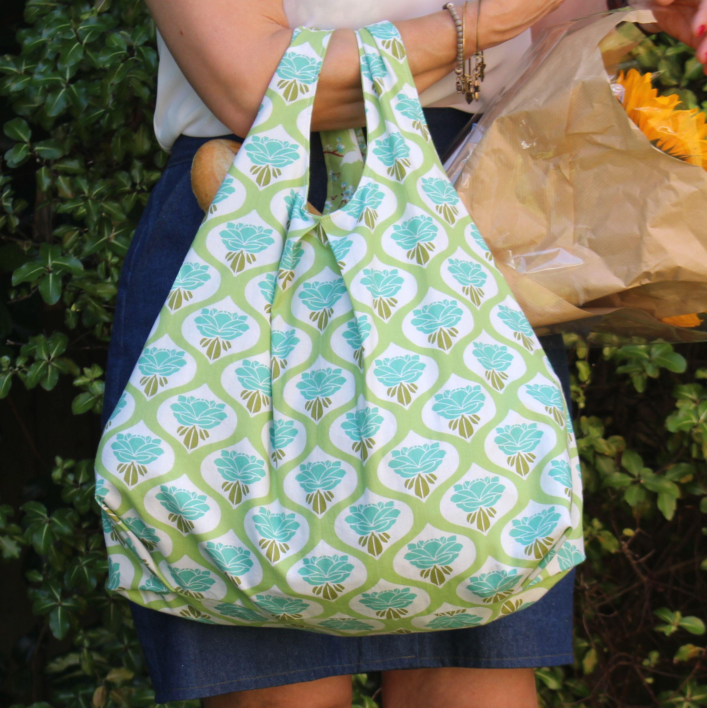 My Pattydoo Milly reversible shopping bag Bag pattern