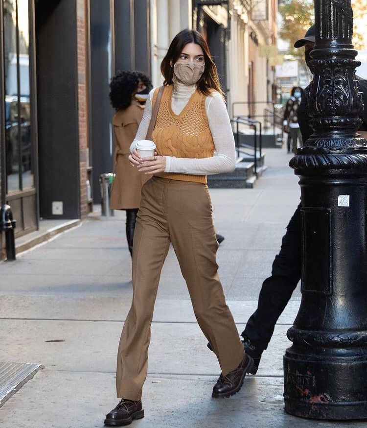 kendall jenner out in new york, november 2020