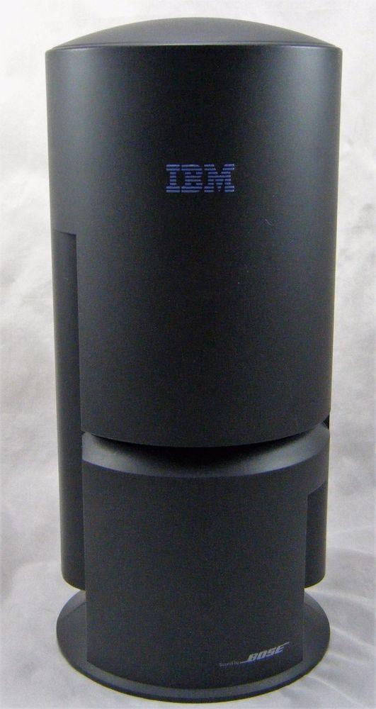 ibm bose tower computer speaker ps 2 connection aptiva. Black Bedroom Furniture Sets. Home Design Ideas