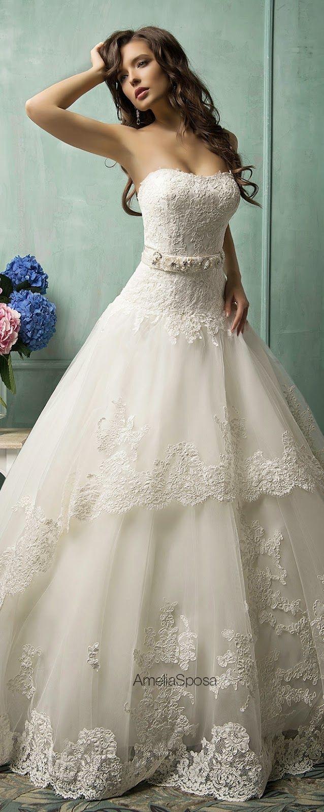 amelia sposa 2014 wedding dresses pinterest robe de