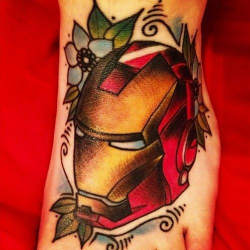 12 Impressive Iron Man Tattoo Designs