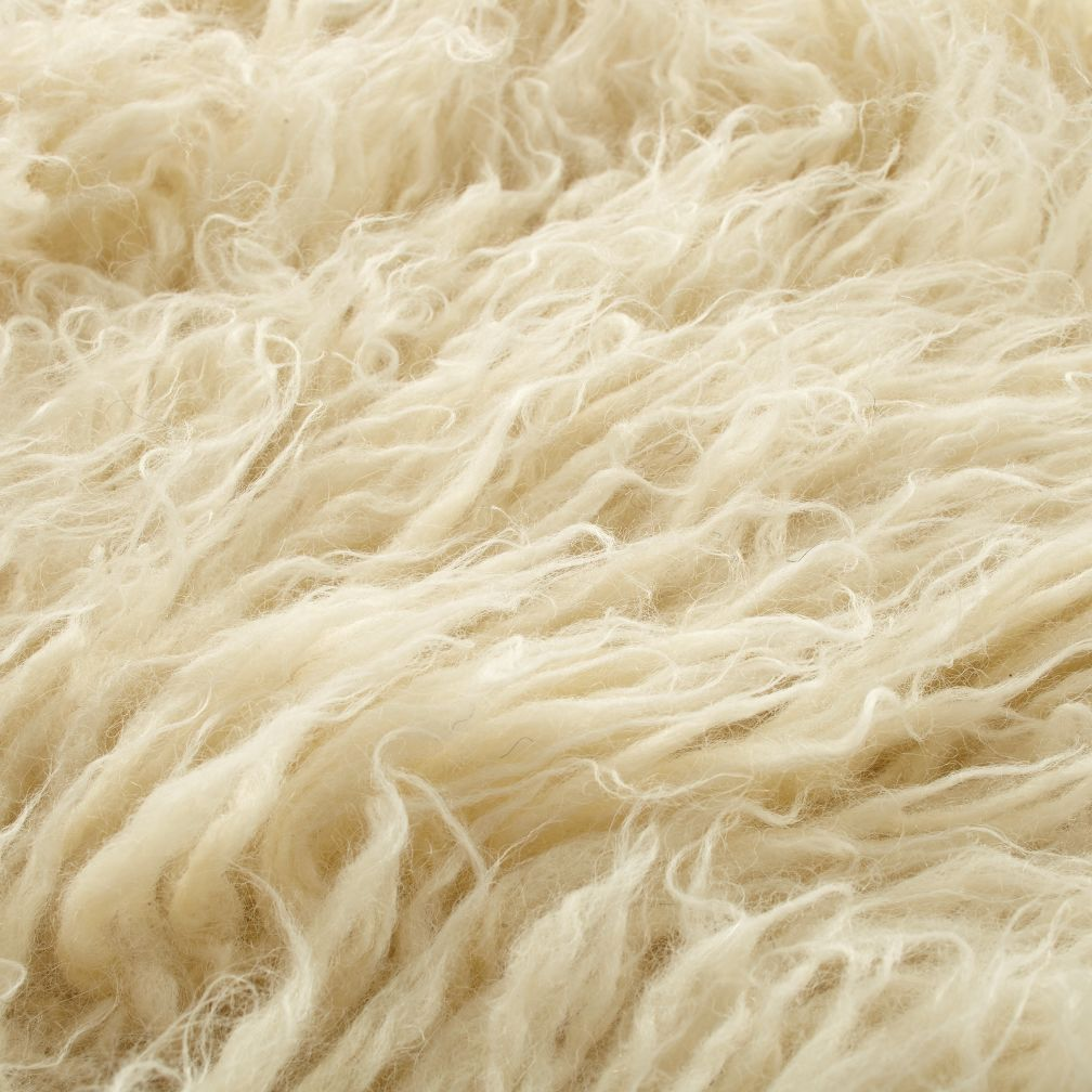 Flokati Fluff Rug  | The Land of Nod