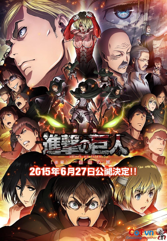Attack On Titan Movie 2 sẽ có định dạng 4D
