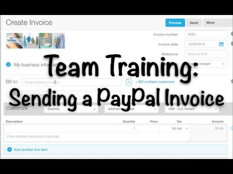 Sending a PayPal Invoice + Using Google Forms for Ordering - sending an invoice