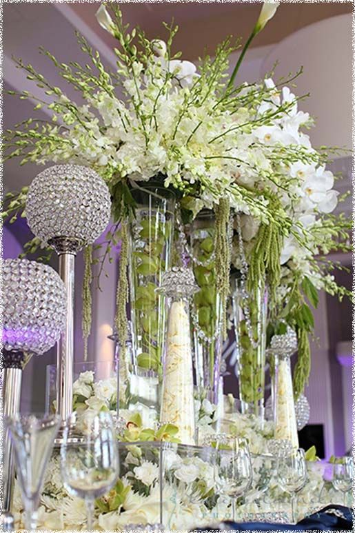 tall-plastic-vases-for-wedding-centerpieces.jpg (515× & Pin by Hannah Haskett on Happily Ever After | Wedding vase ...
