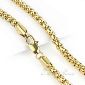 Types Of Gold Chain Links Wholesale Fashion 2mm Mens