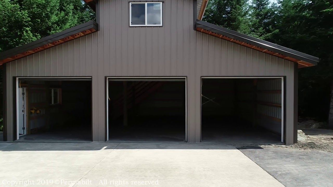 Permabilt Pole Barn Maple Valley Building A Pole Barn Pole Buildings Pole Barn