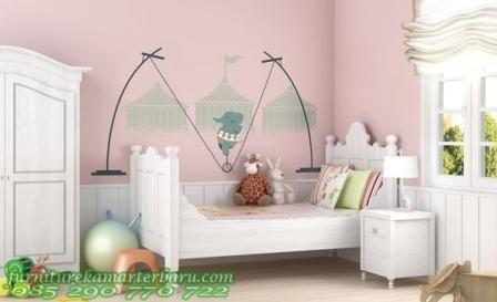 set kamar anak murah ini mempunyai desain dengan warna cat on wall stickers stiker kamar tidur remaja id=49789