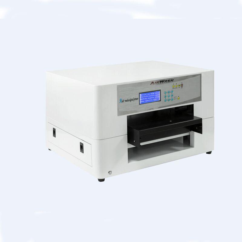 Multifunction A3 Size 6 Color Digital Printing Machine Prices Eco Solvent Printer Flatbed Inkjet Print Machine Digital Printing Machine Printer Card Printer