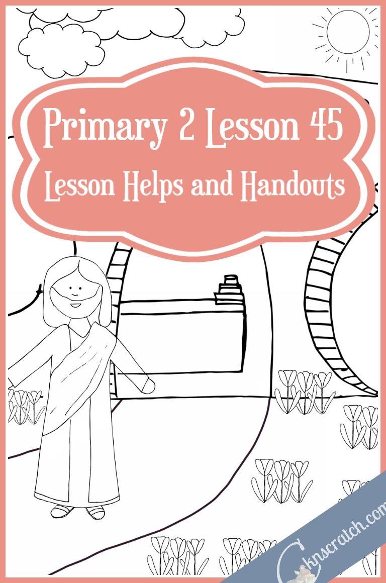 Lesson 45: We Celebrate the Resurrection of Jesus Christ (Easter ...