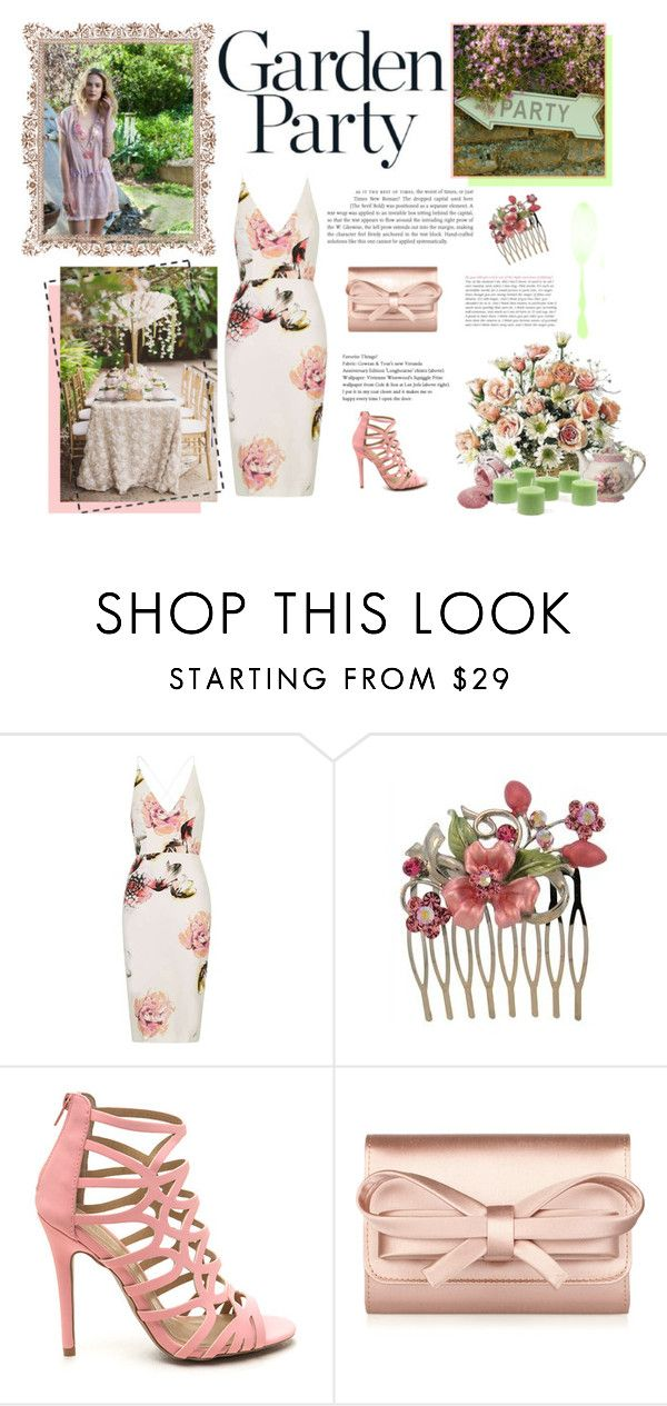 """""""Green & Pink"""" by pepsa5 ❤ liked on Polyvore featuring Topshop and Valentino"""