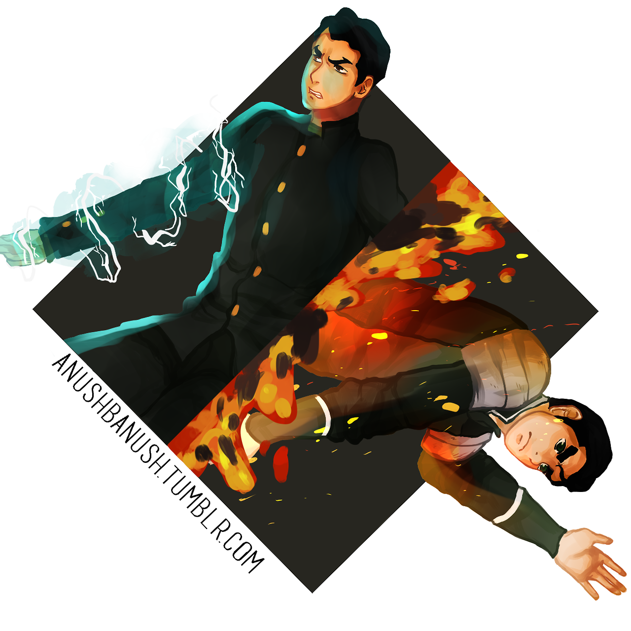 anushbanush: Bolin and Mako!!!