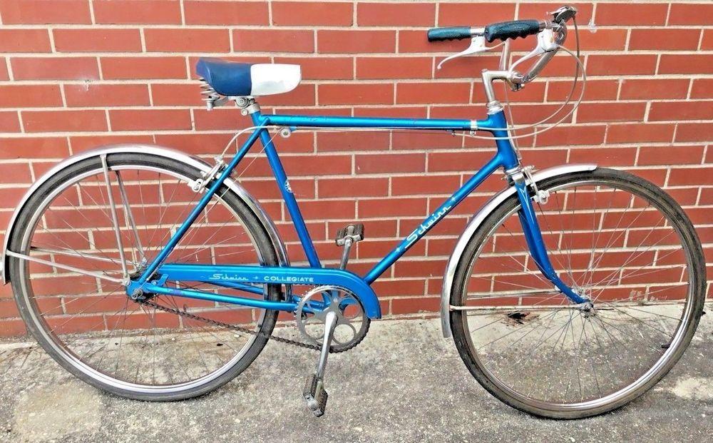 c5bda5f538d RARE Vintage 1969 Schwinn Collegiate 3 Speed Bicycle SKY BLUE BIKE - VERY  NICE #Schwinn