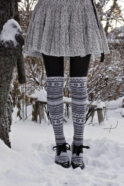 H&M thigh high stockings, tooo cute