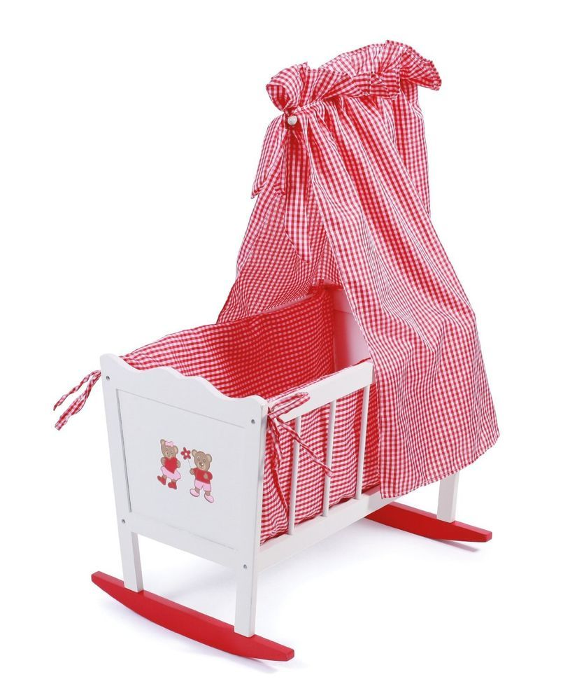 Swinging Crib Cot Baby Doll Furniture Toy Gift Kids Children Play Cradle Canopy  sc 1 st  Pinterest & Swinging Crib Cot Baby Doll Furniture Toy Gift Kids Children Play ...