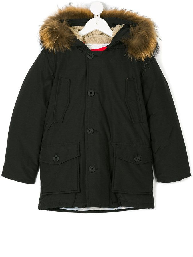 Freedomday Junior racoon fur hooded coat | Products | Winter