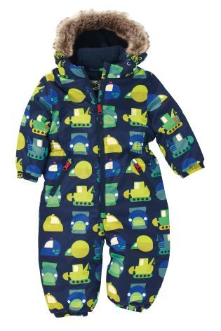 Buy Transport Print Snowsuit (3mths-6yrs) from the Next UK ...