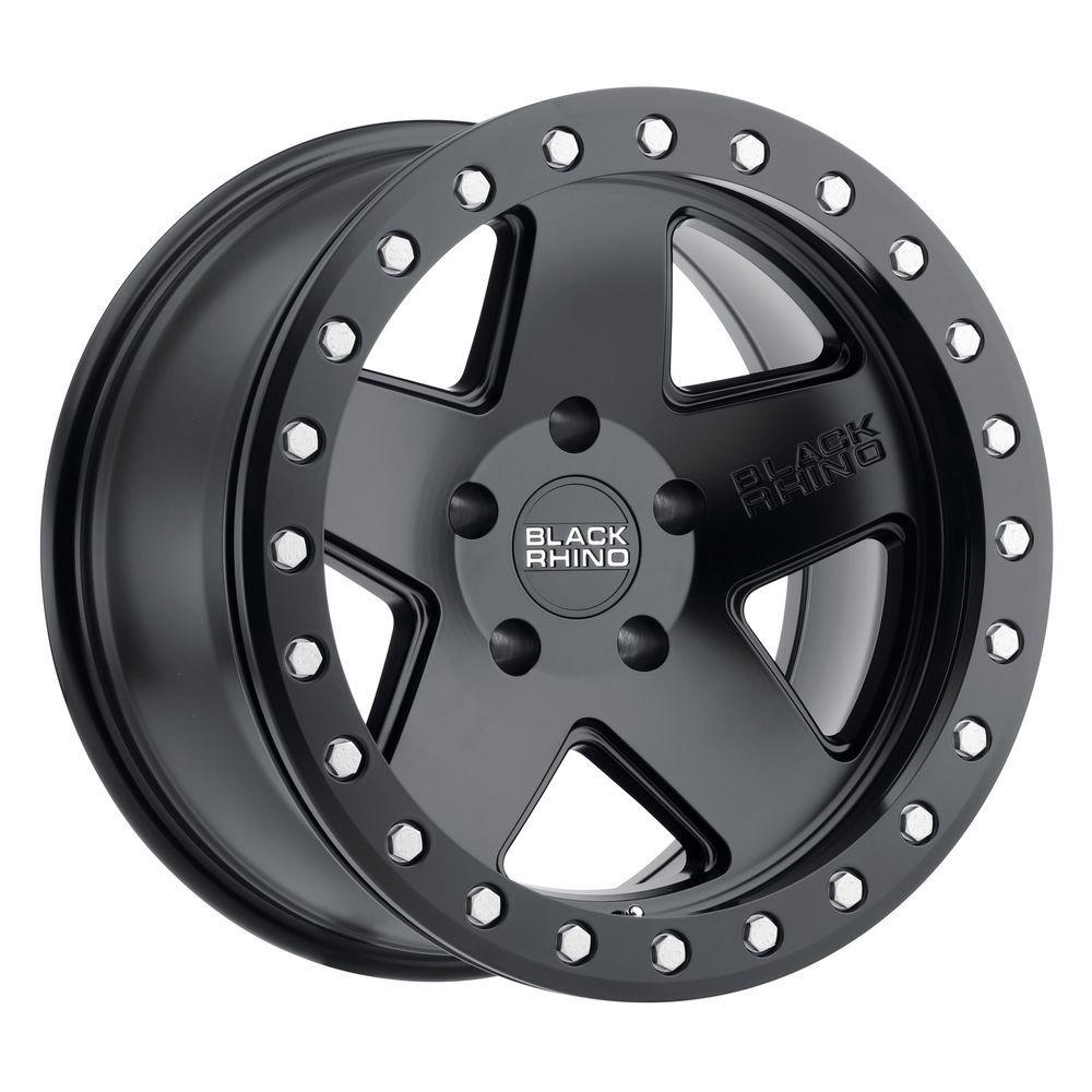 17 Black Rhino Crawler Black Wheel 17x8 5 5x4 5 32mm Lifted Ford Ranger 5 Lug Black Wheels Truck Rims Matte Black