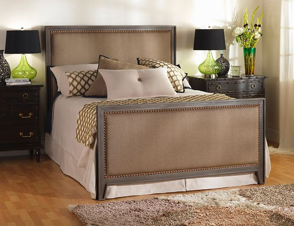 Wesley Allen Iron Beds Upholstery Bed Iron Bed Upholstered