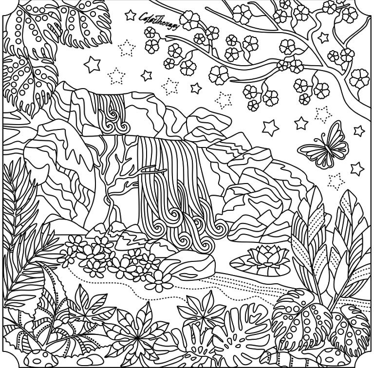 Pin By Stefania Russo On Coloring Pages Cool Coloring Pages Cute Coloring Pages Zen Colors