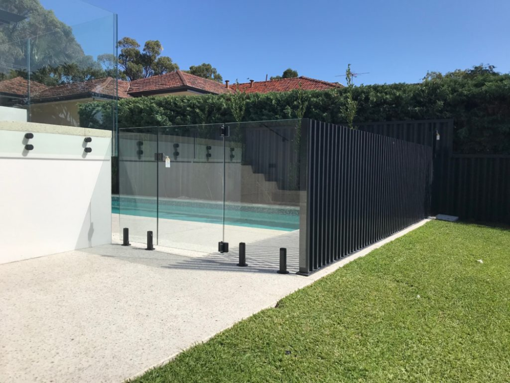Aluminium And Glass Pool Fencing Combined Fence Spot Glass Pool Fencing Aluminum Pool Fence Pool Fence