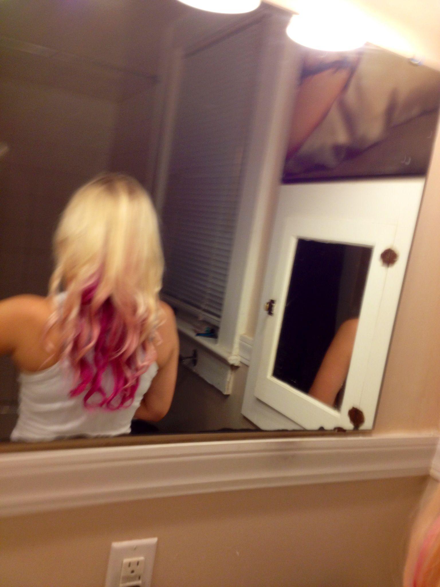 Died My Hair Purple Underneath Fantastic Hair Hair Hair Styles