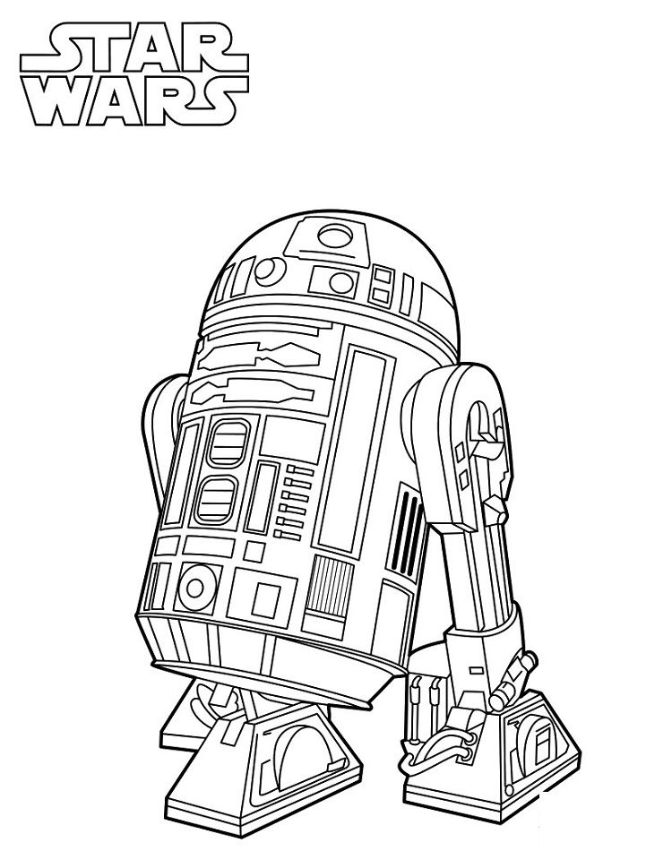 Star Wars Robot Coloring Pages Star Wars Coloring Book Star Wars Colors Coloring Books