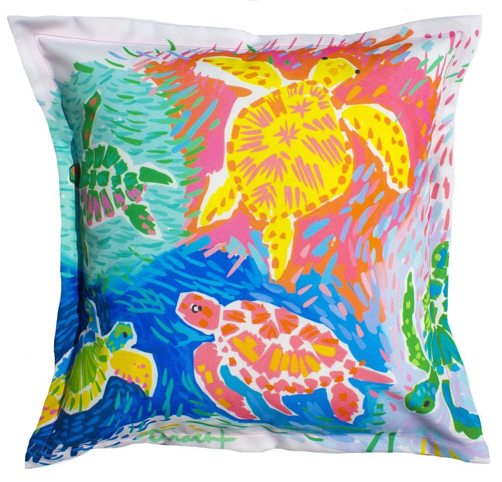 house insert includes beach or outdoor pillows microfiber pin pillow pineapple home lumbar welcome woven coastal
