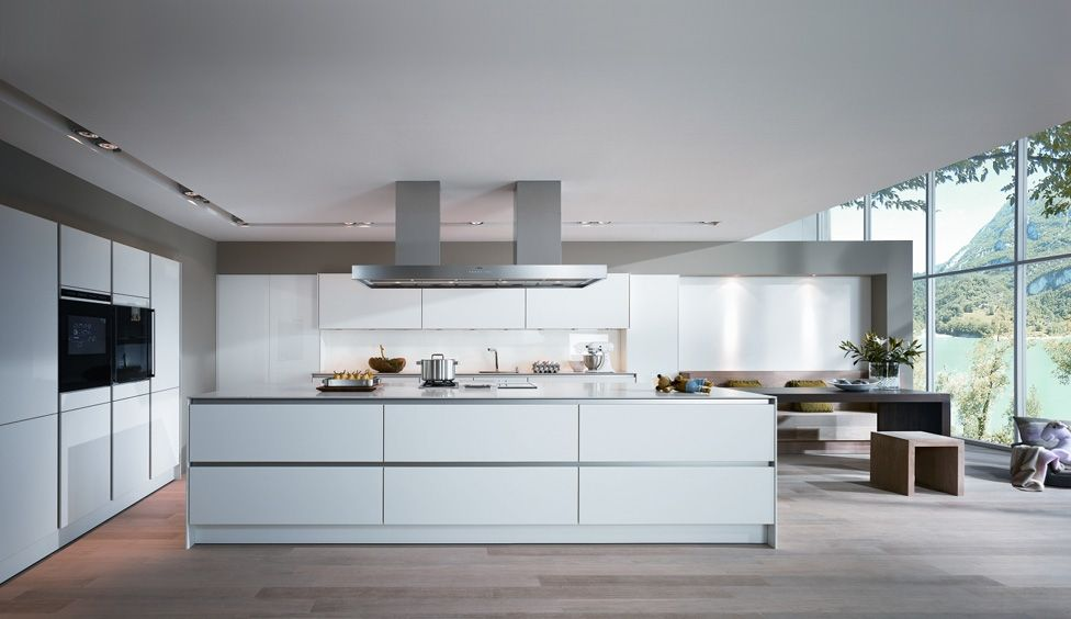 Kitchen Design Uk Luxury. Check out the Luxury kitchens collections by German Kitchen furniture  Manufacturer SieMatic Hidden kitchen design Minosa Design Open Plan in White Color for Large Space swish