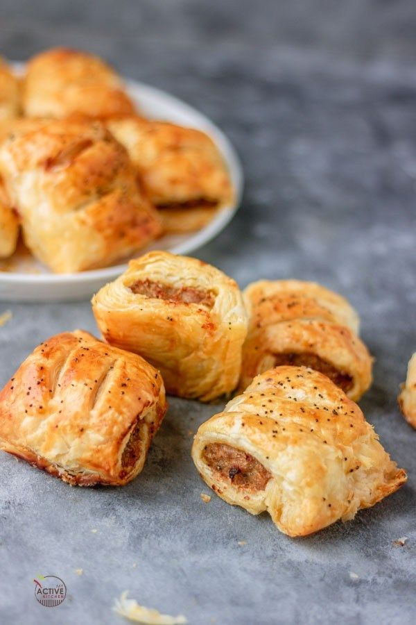 Easy Sausage Rolls #easysausagerecipes