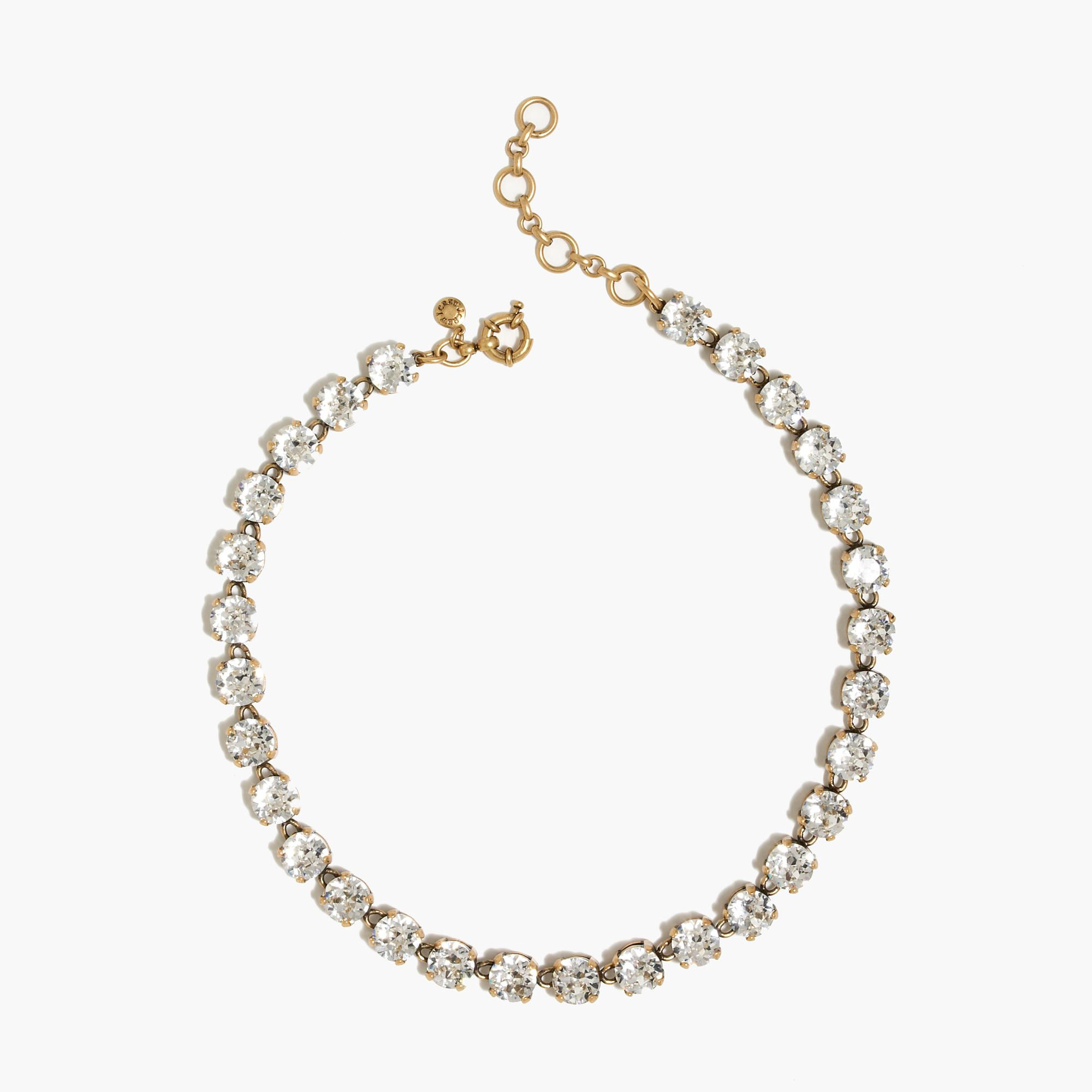 Shop the Swarovski Crystal Necklace at JCrewcom and see our entire