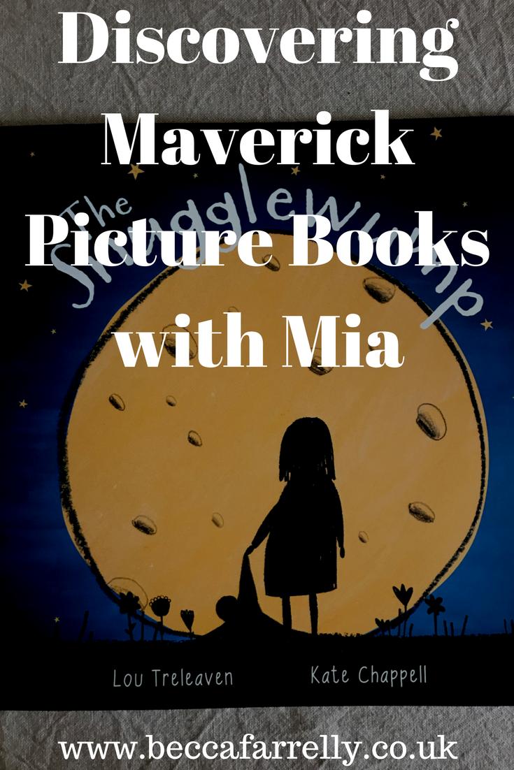 Discovering Maverick Picture Books with Mia Picture book