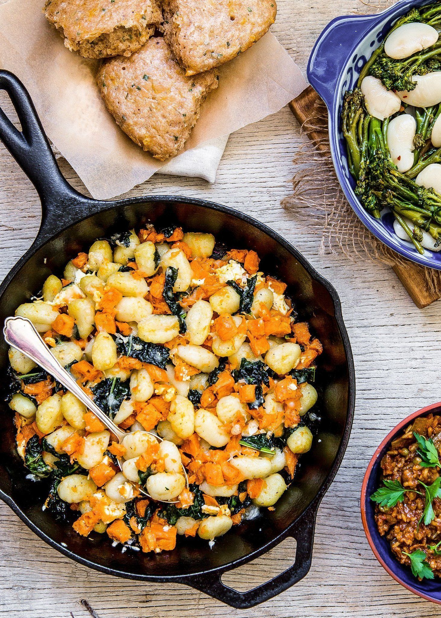 4 Vegetarian Dinners And 1 Dessert For Your Cast Iron
