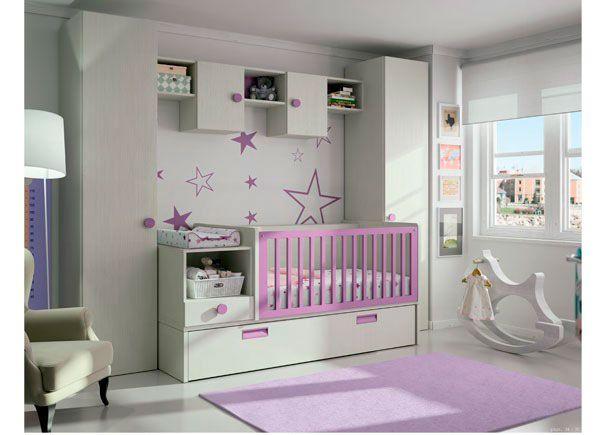Dormitorio bebé con cuna convertible mod. ECO 1   Novedades de ...