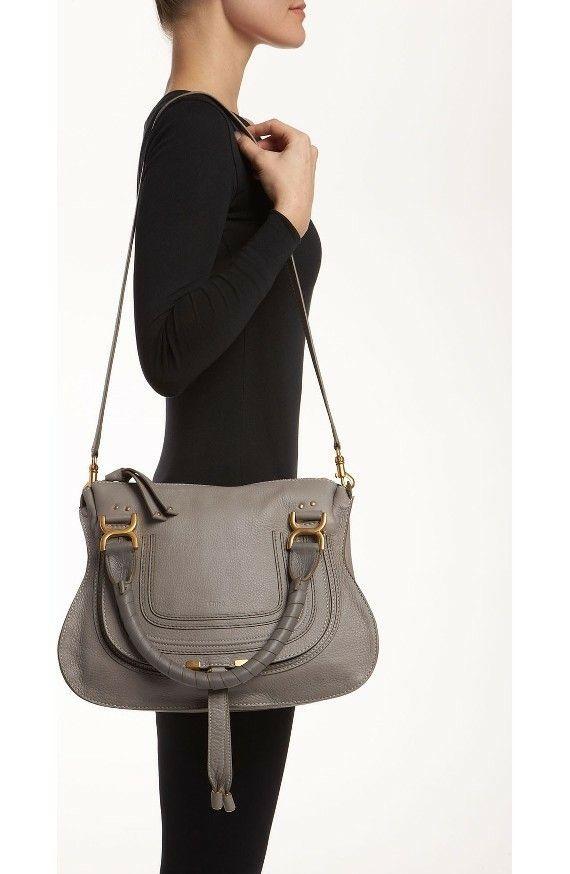 Chloe Marcie Cashmere Gray | Tasche grau, Taschen und Grau
