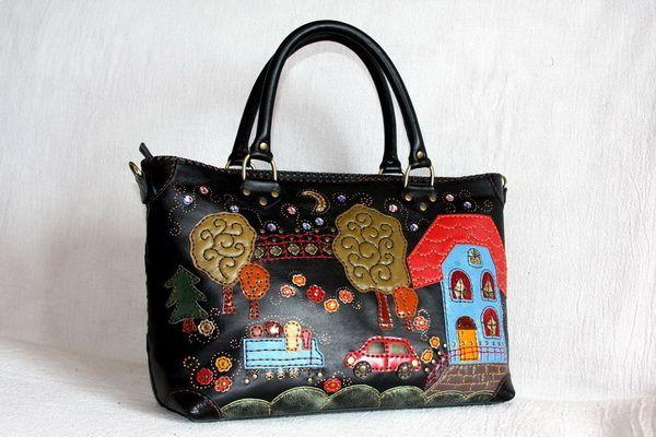 30aaf8aa754b Как обновить старую сумку своими руками и фото, как обновить ручки сумки в  домашних условиях