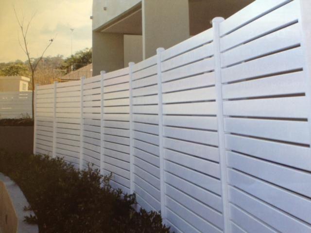 20mm Aluminium Slat Fence Panels Privacy Screens Freight Free Slatted Fence Panels Aluminum Fence Fence Panels