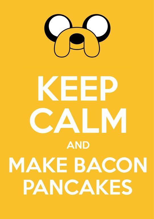 Bacon. Pancakes