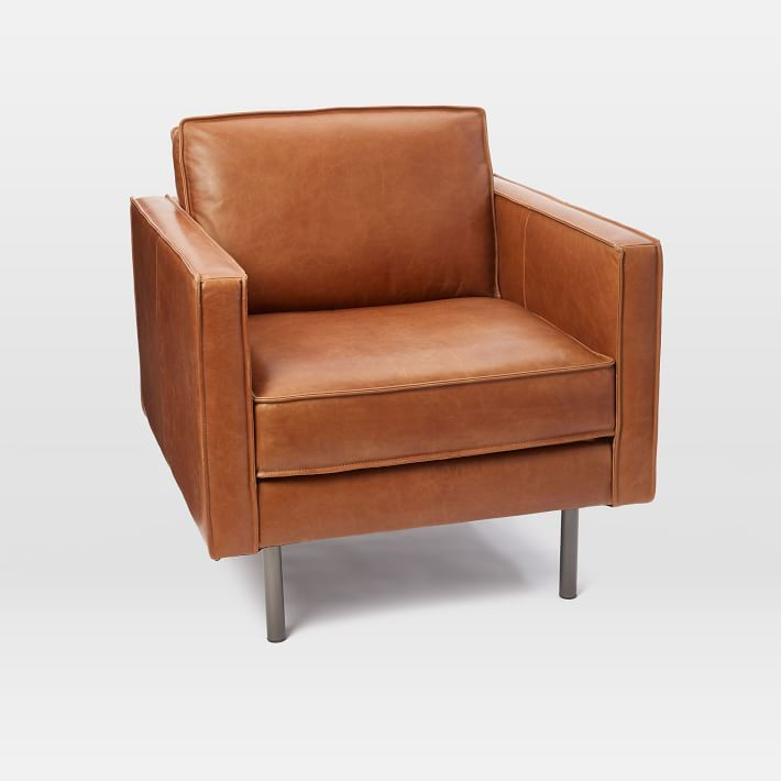 Axel Leather Armchair | Armchair, Leather furniture, Retro ...