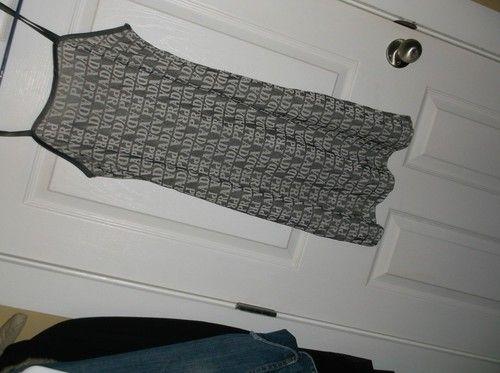 Fake Prada logo dress. Really?