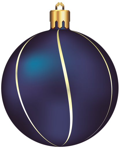 Transparent Blue And Gold Christmas Ball Ornament Clipart Blue Christmas Ornaments Gold Christmas Gold Christmas Ornaments